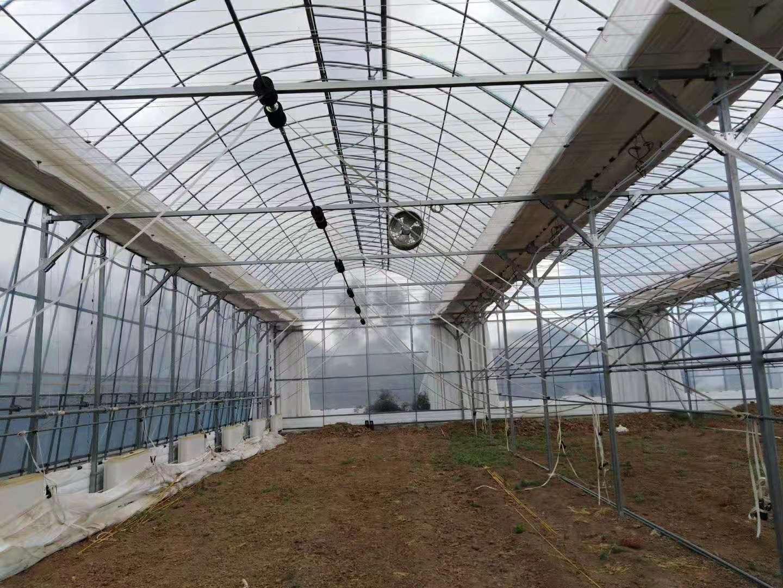 如何应对北方地区连栋温室大棚大的短板,这几种方法必须了解