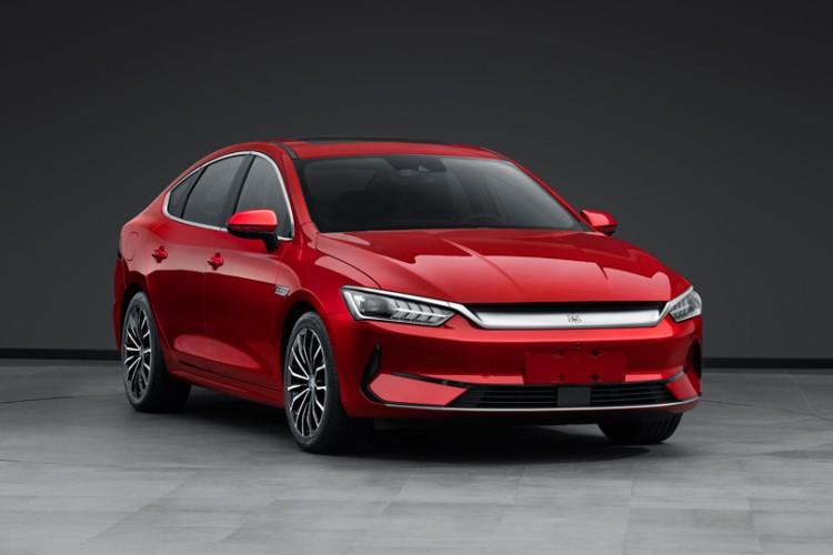比汉EV便宜 比亚迪秦家族再推新纯电轿车