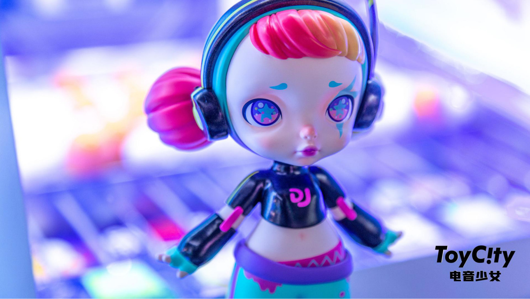 ToyCity玩具城市潮玩新品—电音少女Laura震撼上线
