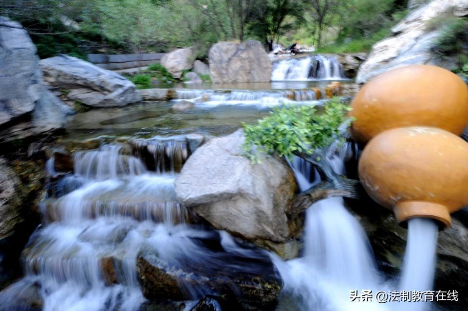 美景潭瀑峡