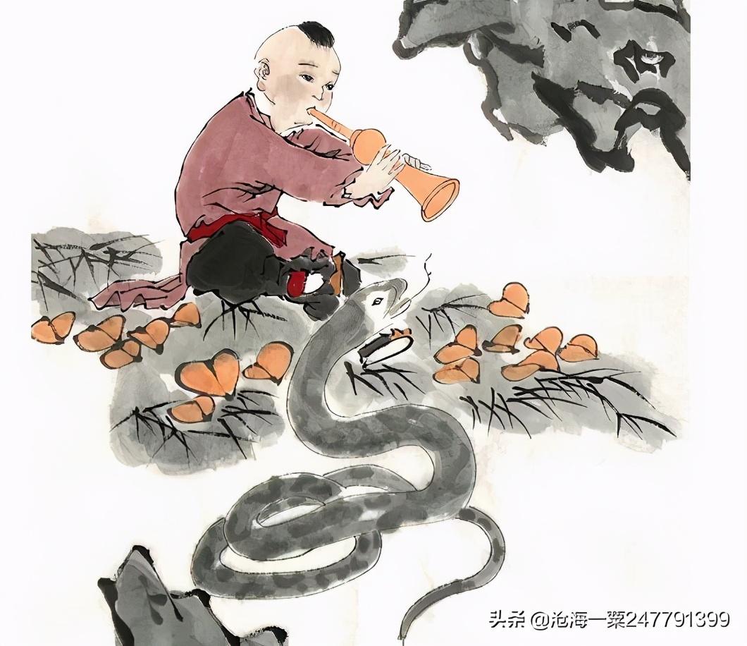 古代志怪故事:蛇妻,黄相公,管库狐仙