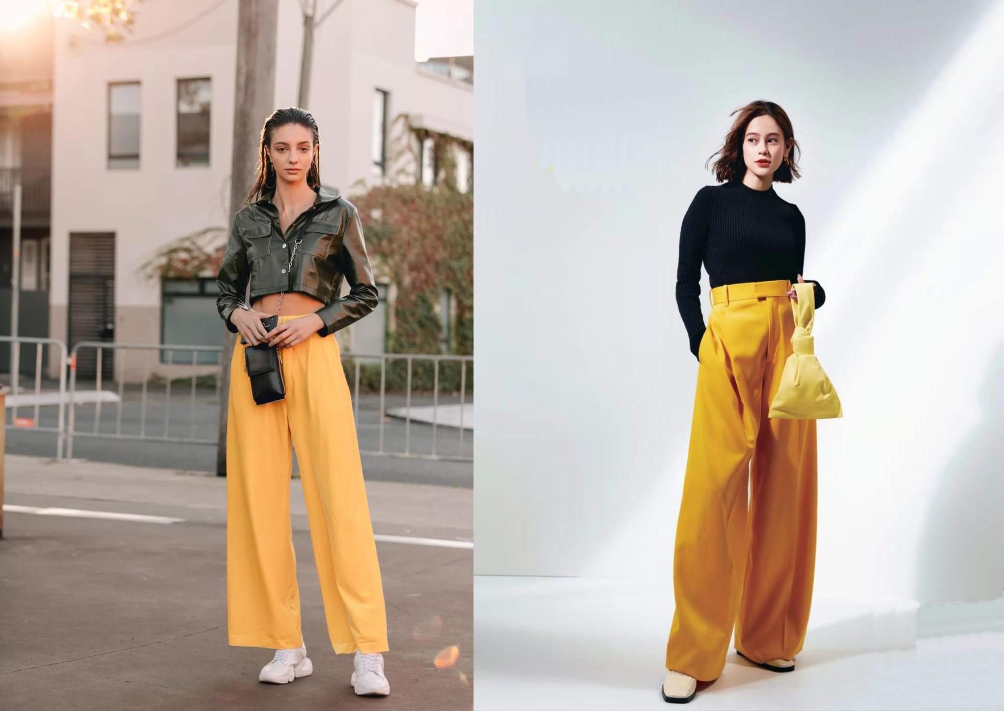 """黄皮肤穿""""黄色""""就很丑?偏不信!日本博主的黄色穿搭,优雅极了"""