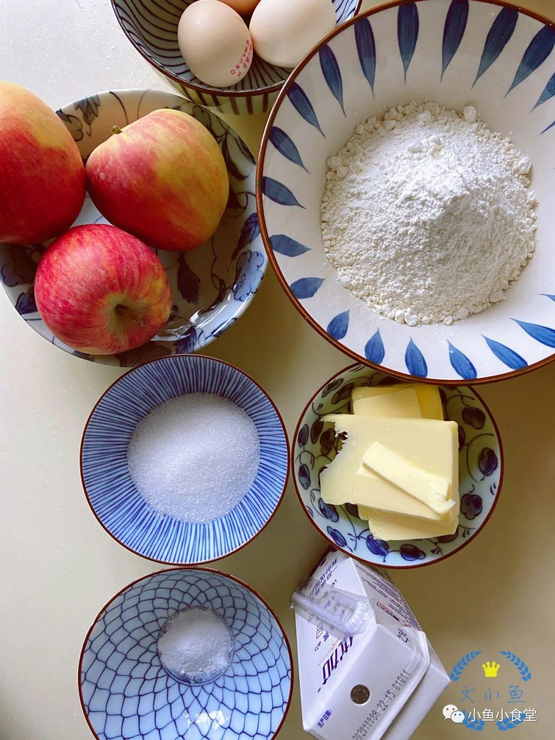 平安夜,来点轻甜的苹果蛋糕,梦应该会更甜吧