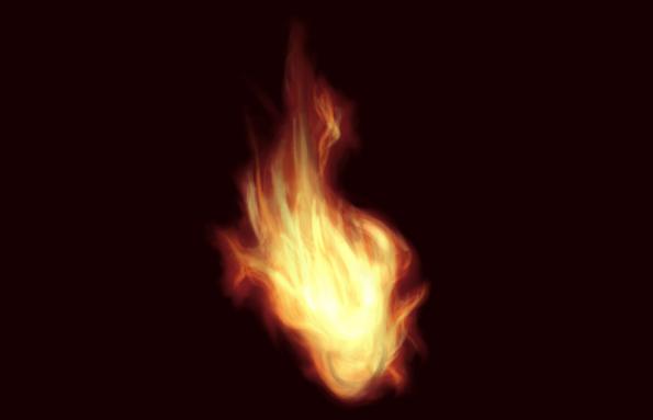 动漫燃烧的火焰如何画?教你燃烧的火焰特效画法技术