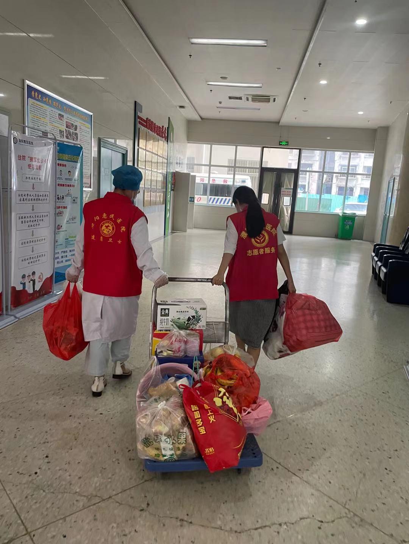 「我为群众办实事」惠民医院志愿者 倾情服务每位患者