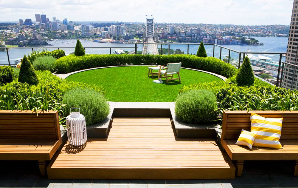 城市屋顶花园