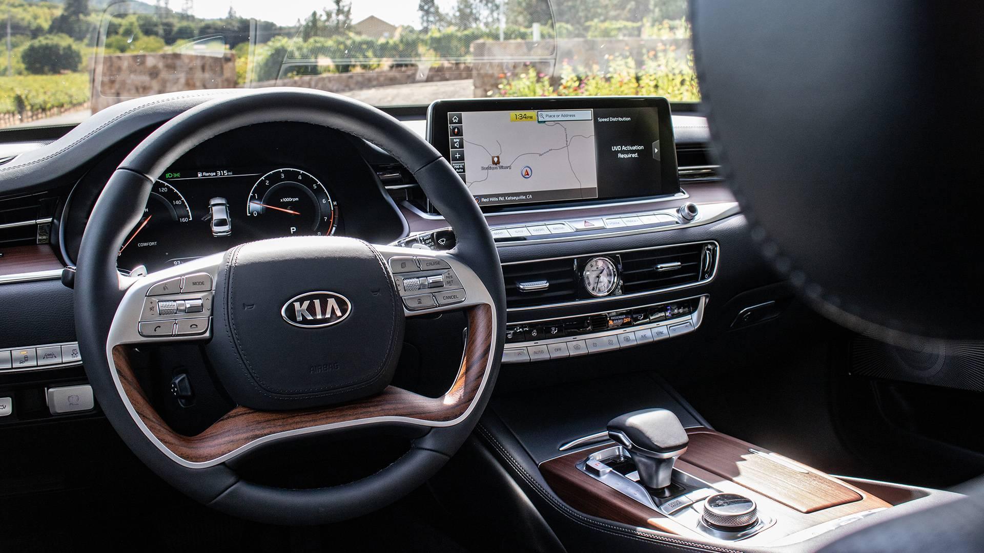 豪华感不输奔驰,起亚全新K900曝光!5.0升V8动力真带劲