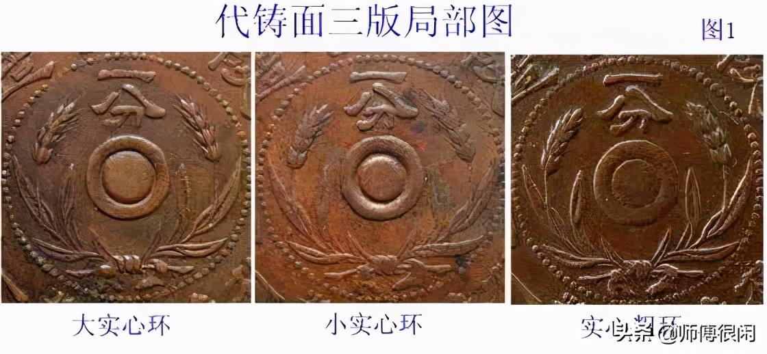 民国陕西一分铜元部分版式详解