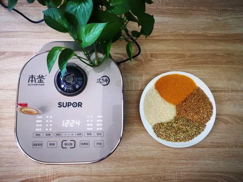 厨房里的极简主张 一口苏泊尔远红外本釜电饭煲就够了