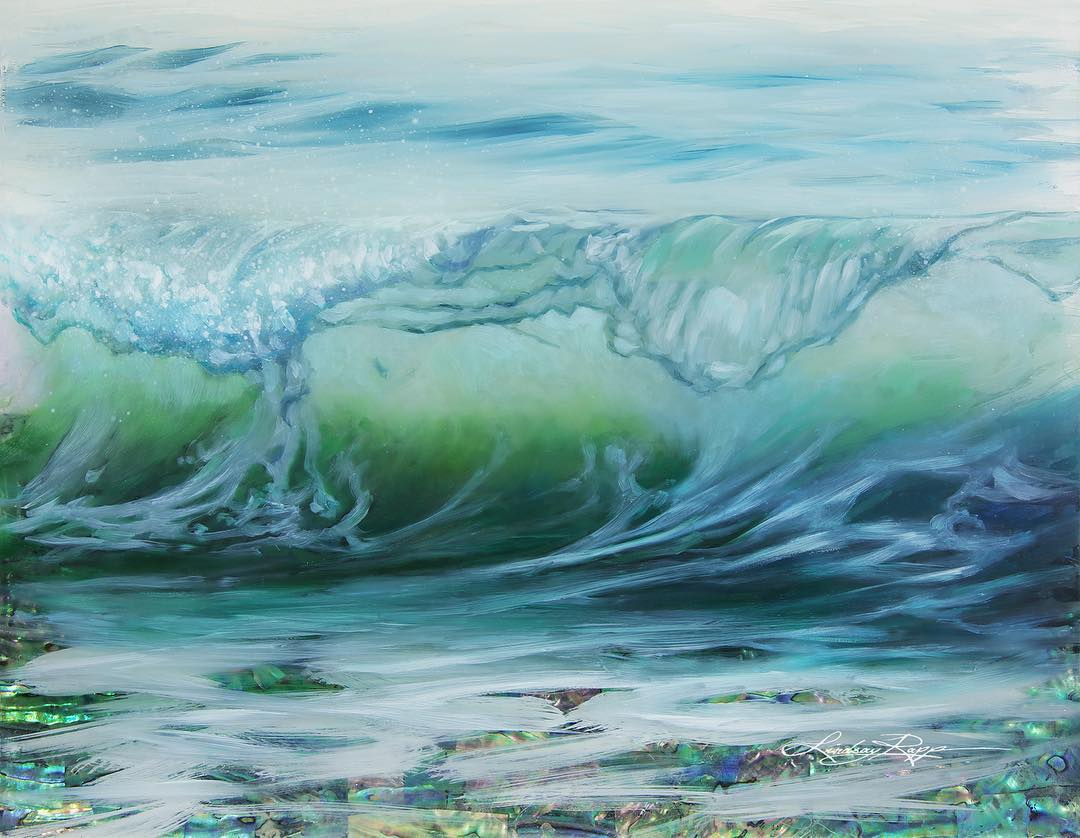 手绘丨把珍贵珠宝元素融入画中的Lindsay Rapp~