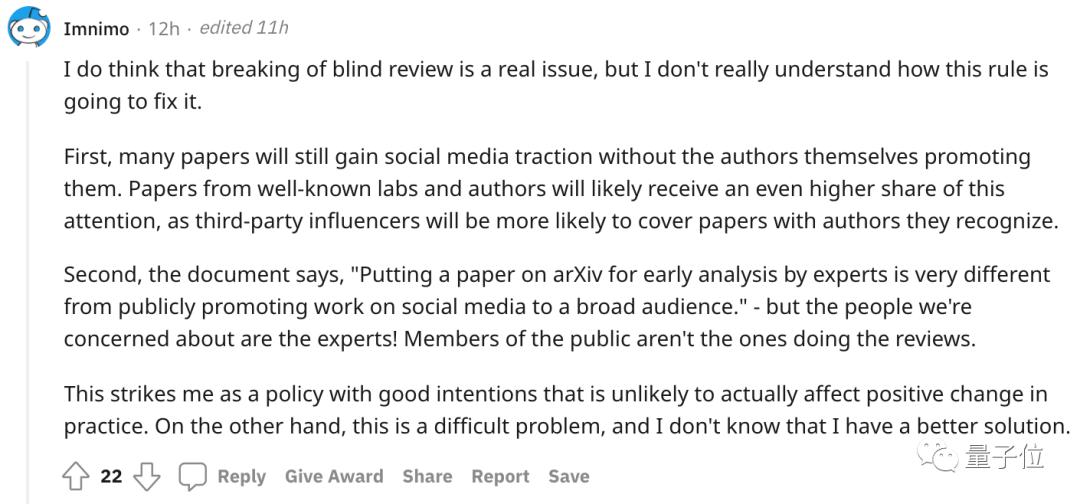 CVPR禁令:盲评论文不能在社交平台上讨论!LeCun:这政策疯了吧