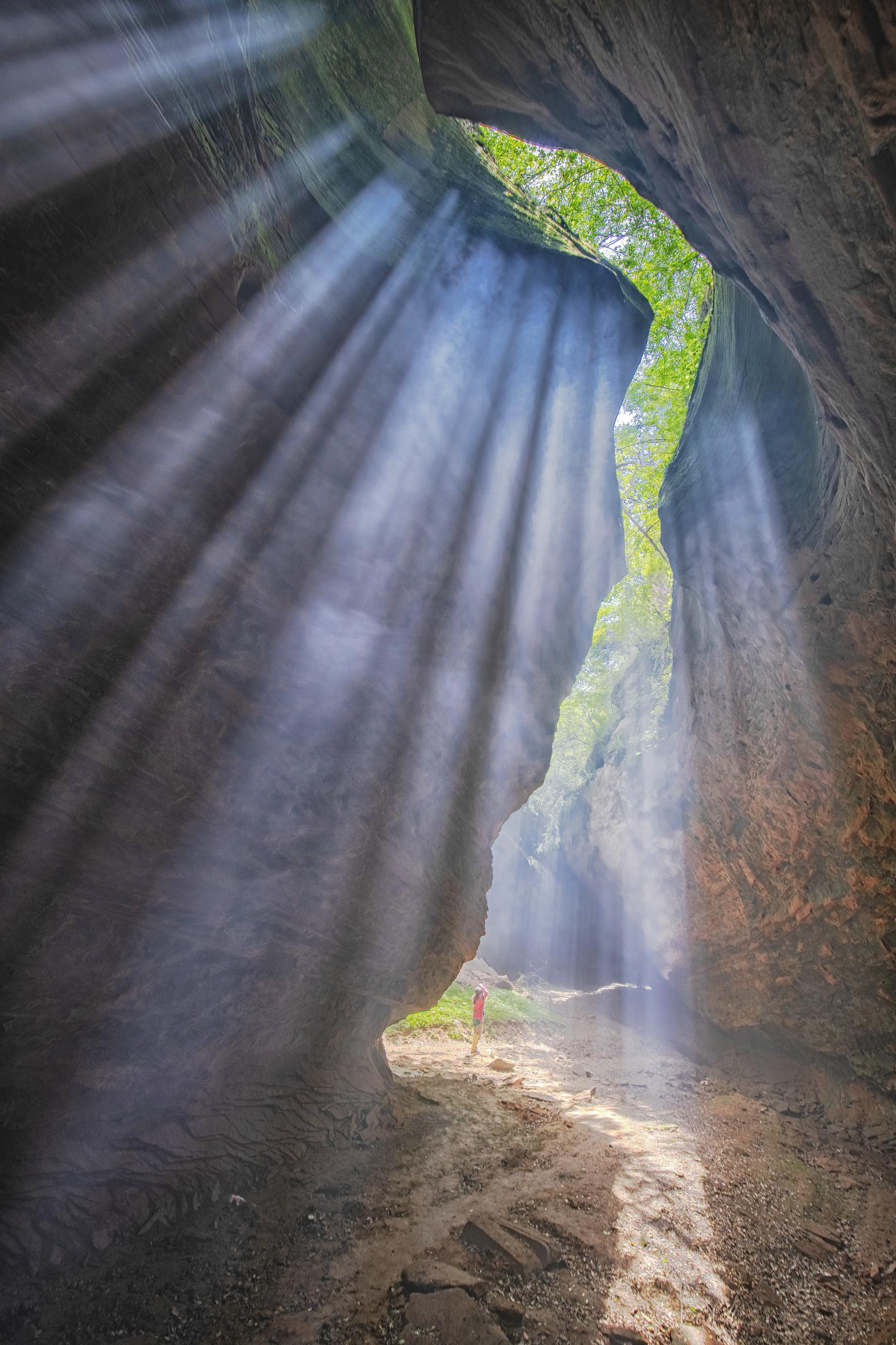 「山人行摄」甘泉大峡谷是有灵魂的立体画廊