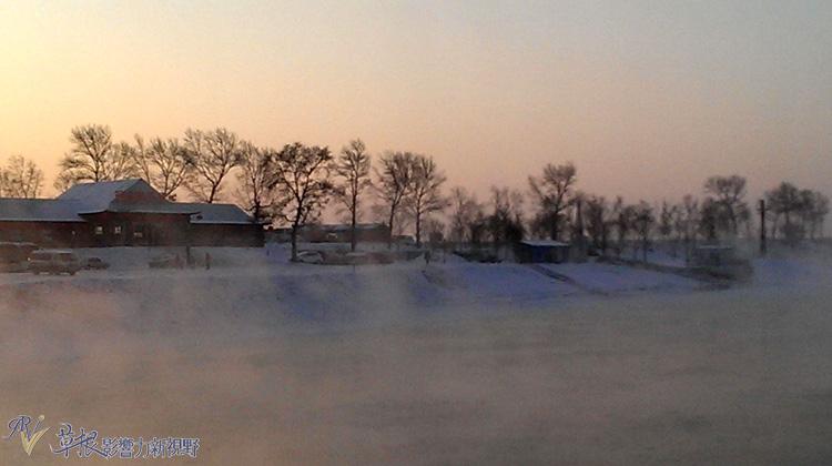 东北冰雪(十一) 吉林雾凇岛看雾凇