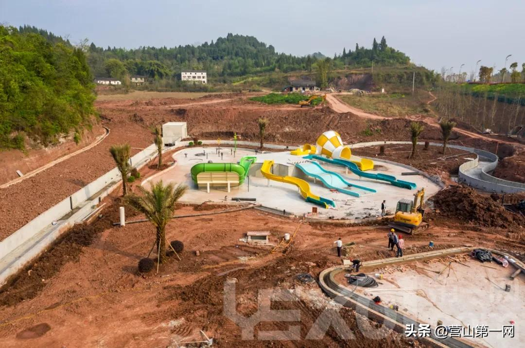 """营山水上乐园——""""月兔梦乐园""""正在火热建设中"""