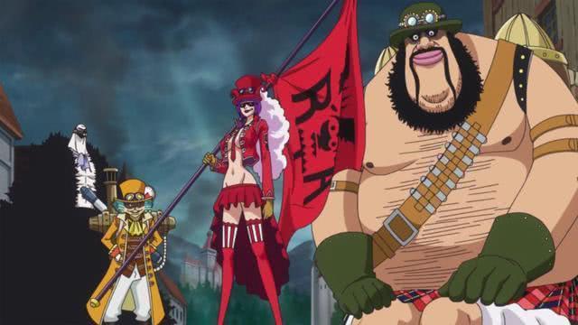 海賊王:5位強者麾下的4大戰力稱謂,甜點四將星已成為歷史