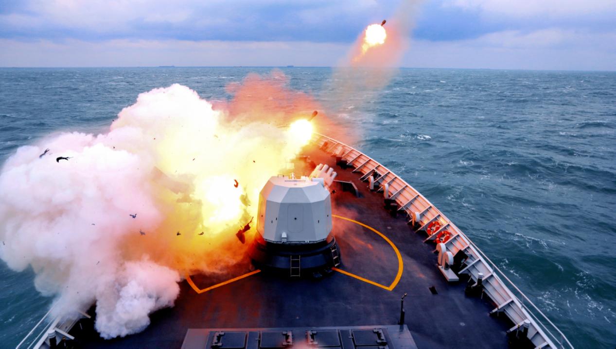 解放军军机在台海实战训练,是否会擦枪走火?国台办回应来了