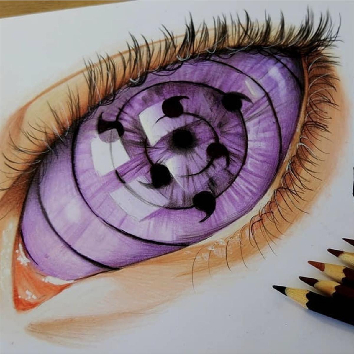 《火影忍者》中的各色瞳術,白眼提升氣質,寫輪眼帥氣但費眼睛
