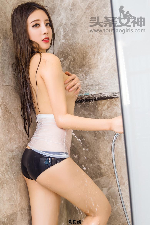 【TouTiao头条女神】筱慧浴室湿身写真