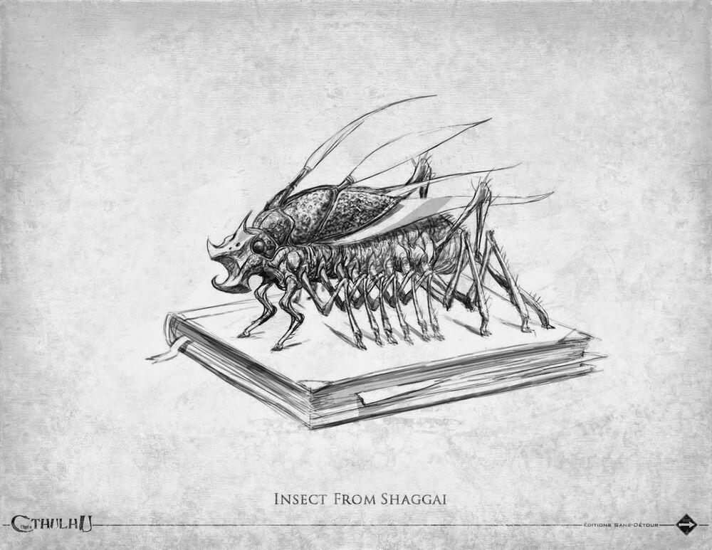 克苏鲁神话生物——夏盖虫族