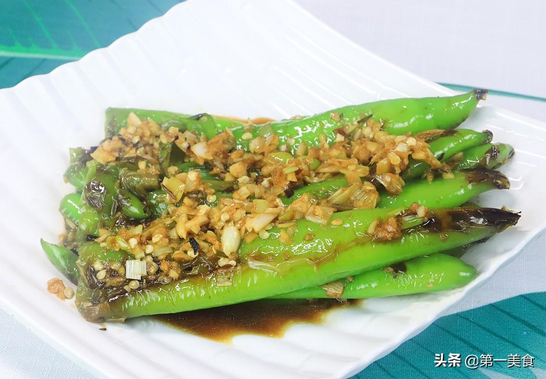 【虎皮青椒】做法步骤图 厨师长分享做法和技巧 学会在家做