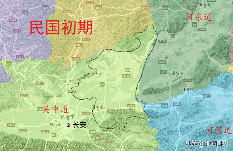 渭南市行政区划史,南华北同两州并存,渭南县后来者居上