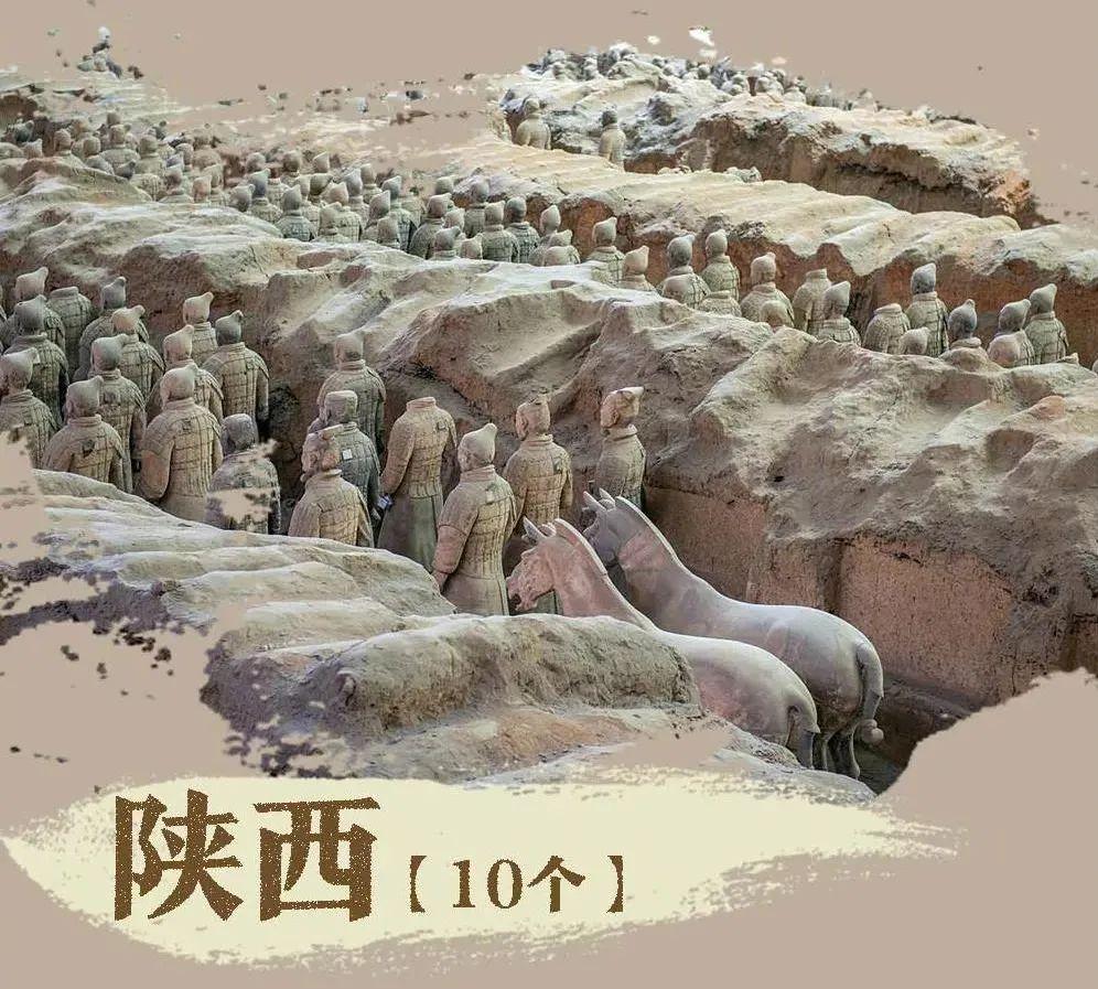 这份全国人民都想打卡的景区名单,陕西占了10个,你还不快来看看