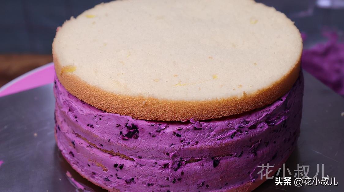 混合果酱奶油蛋糕,用春天的果酱,做冬天的蛋糕,妻子说,真好