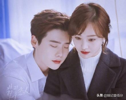 郑爽关注李钟硕,两人合作的《翡翠恋人》要定档了?