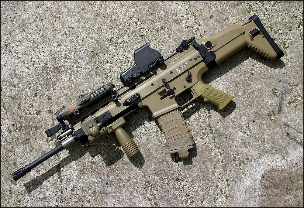 世界上最好的步枪之一——SCAR突击步枪