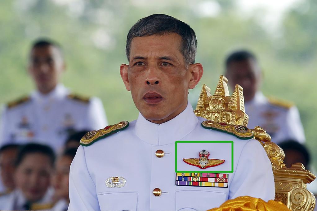 解析泰王军装上的徽章,体现他的从军经历,军事过硬的国王不多见