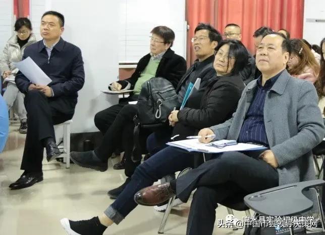 专家冯恩洪亲自率领专家团队到响水县实验初级中学入校指导
