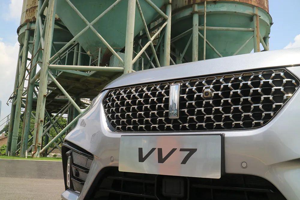 试驾2020款WEY VV7,豪华与智能科技全面升级