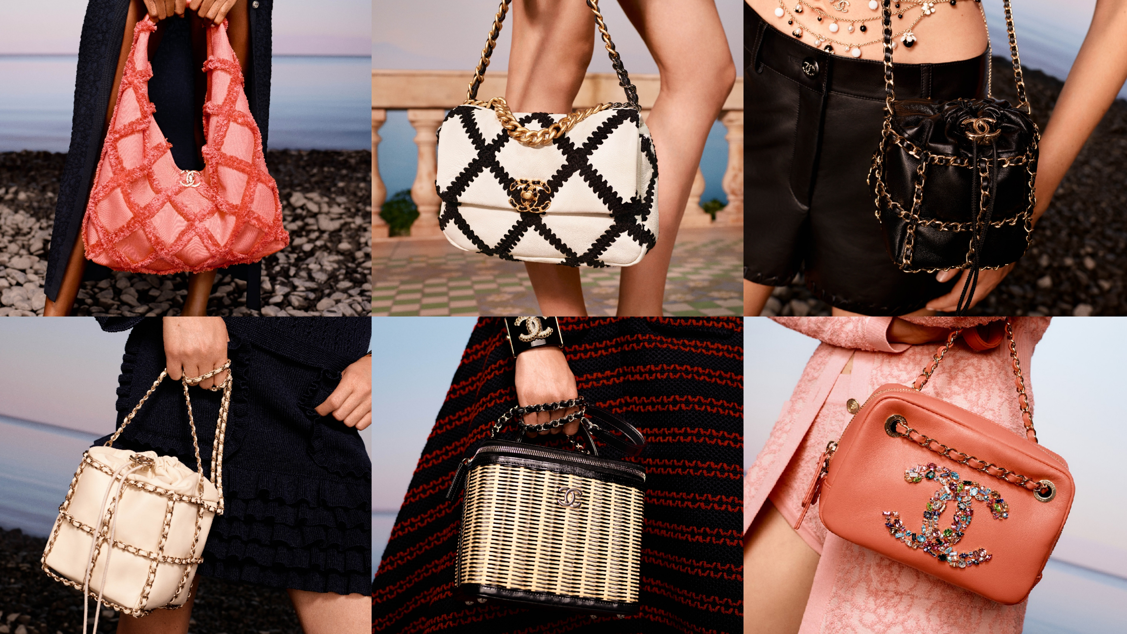 香奈儿2020梦幻包款,链条包、19包、相机包、竹编箱、小方胖等