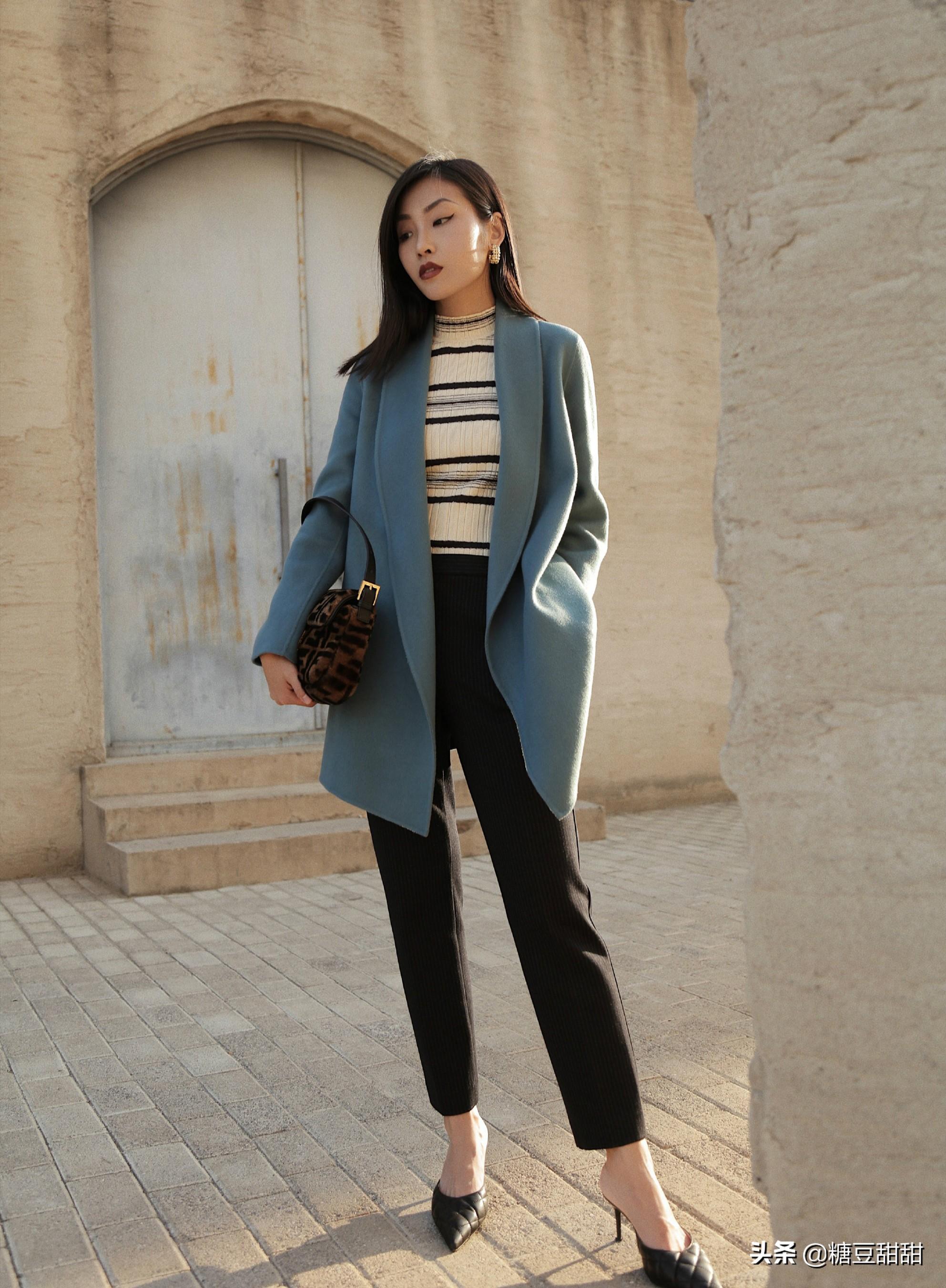 """建议小个子女生:今年的大衣""""买短不买长"""",显高显瘦还不拖沓"""