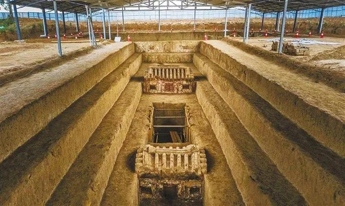 西安南郊发现我国规模最大的十六国时期高等级墓葬