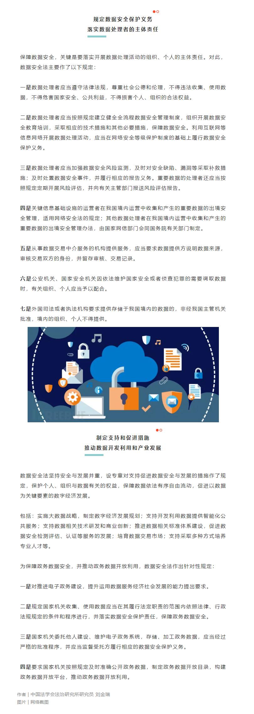 《数据安全法》专家解读之二