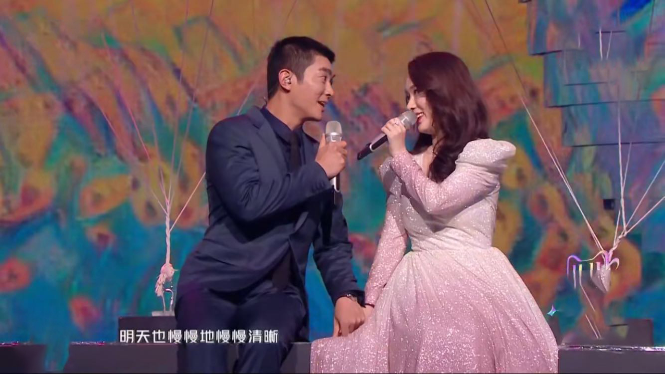 杜江張智霖何猷君三對夫婦唱情歌,一對比一對甜,霍思燕發福明顯
