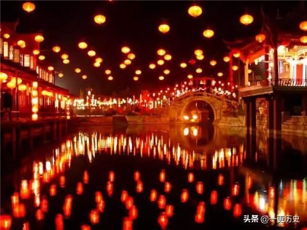 定型于唐,却兴盛于宋,宋代中秋节的赏灯都怎么玩?