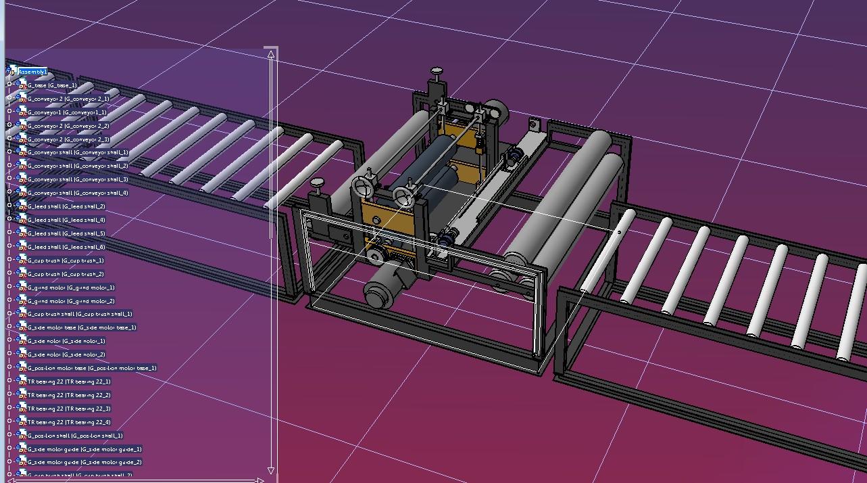 plate grinder machine平板磨床3D数模图纸 STP格式