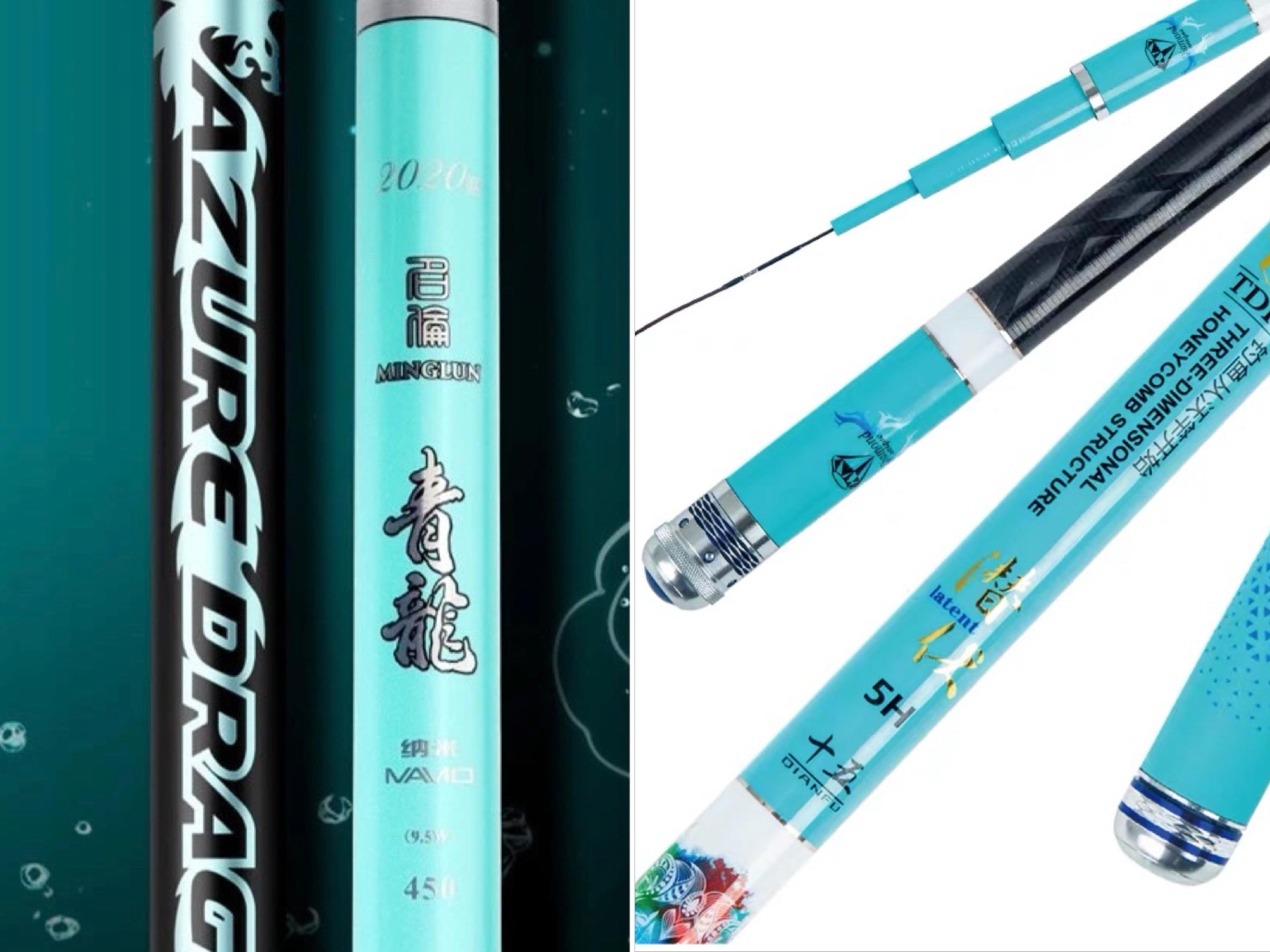 有的钓鱼竿要价上万,有的钓鱼竿才十几元,究竟是什么原因造成的?