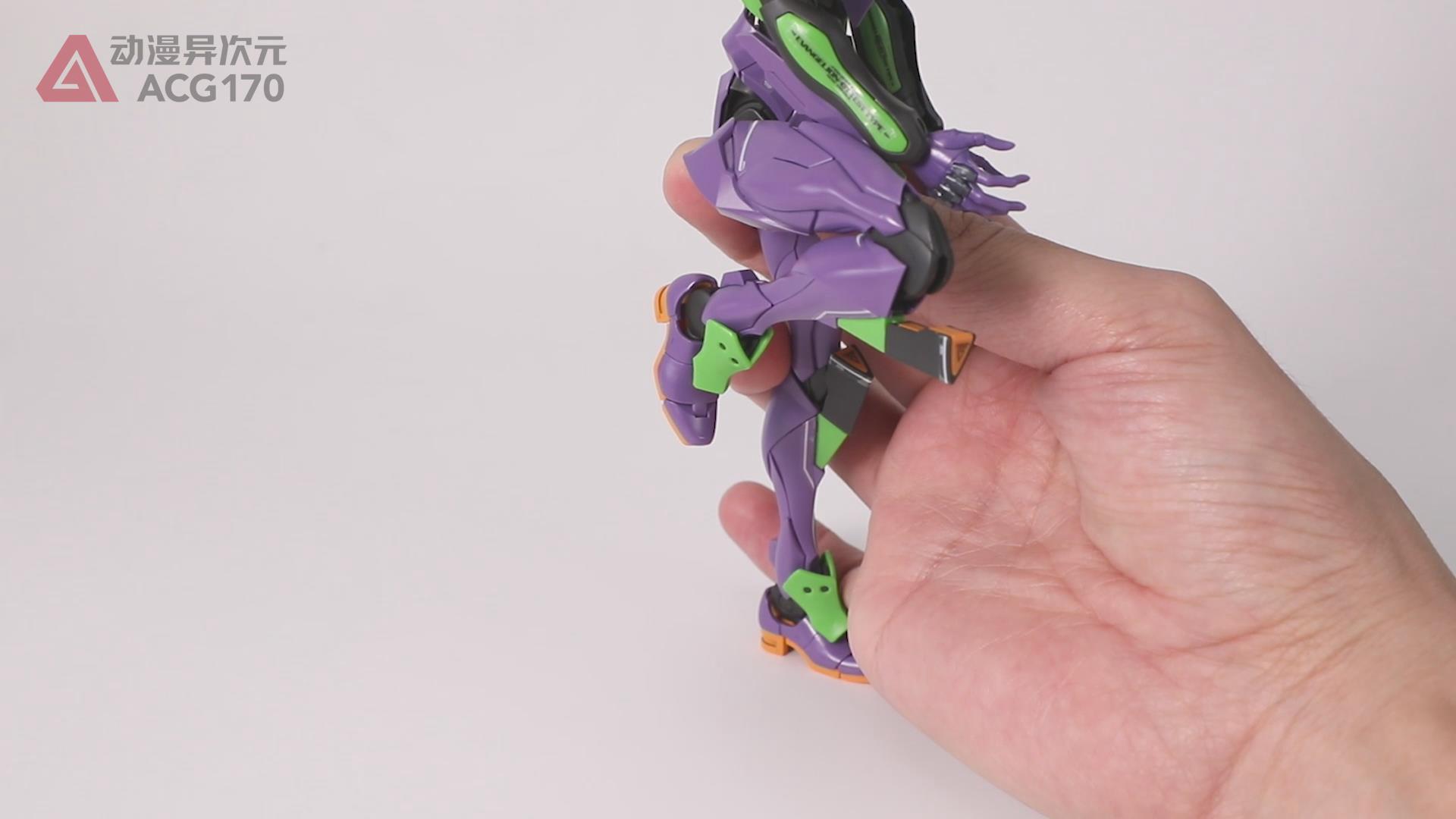 拥有灵魂的人形决战兵器!RG EVA初号机DX版 图文评测