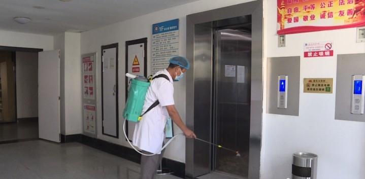 开学在即:消杀到位 健康排查,宿迁市马陵中学防疫全方位管控