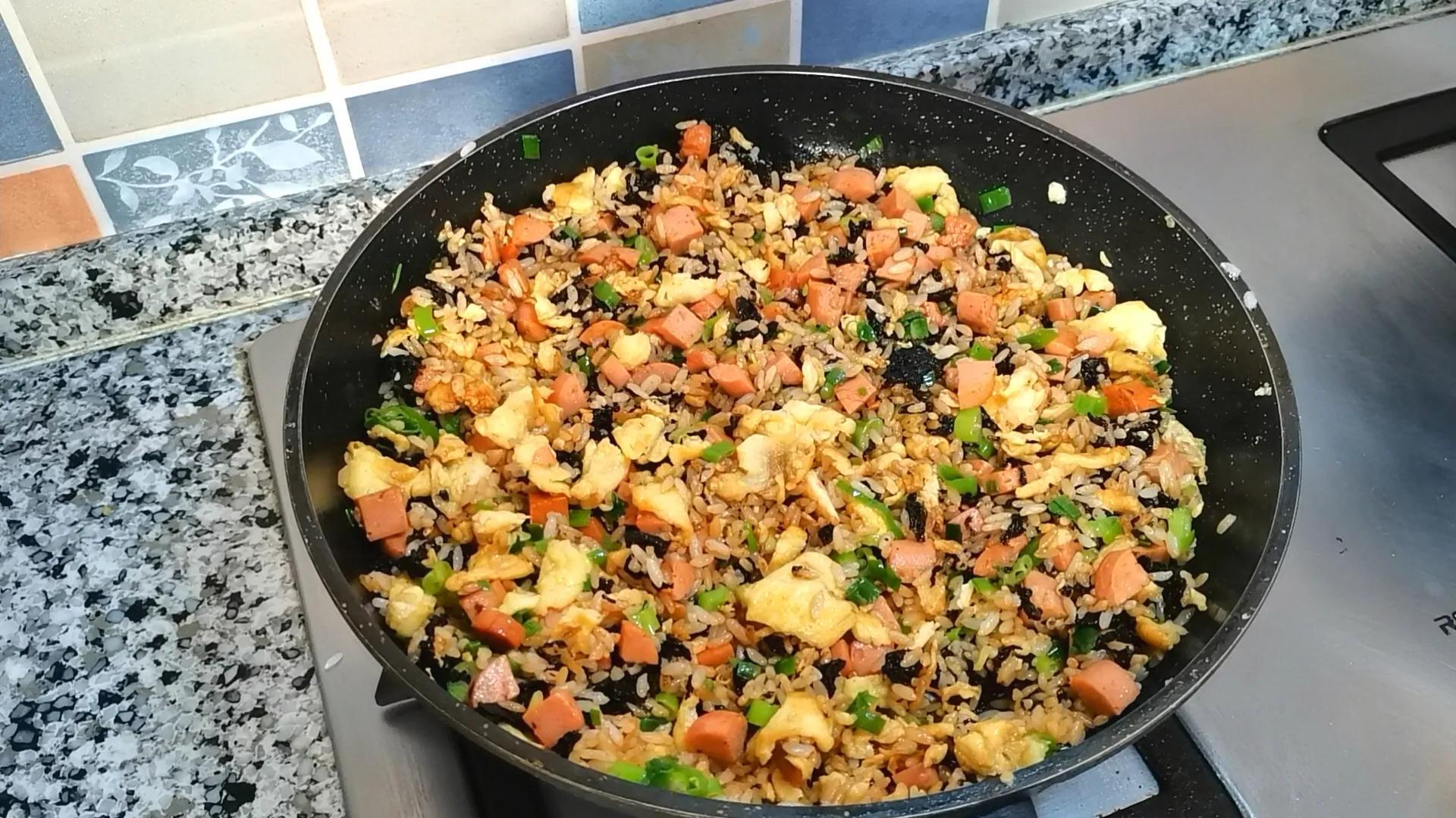 紫菜不要老做汤,试试这样做,好吃又营养,老中幼都爱吃 美食做法 第13张