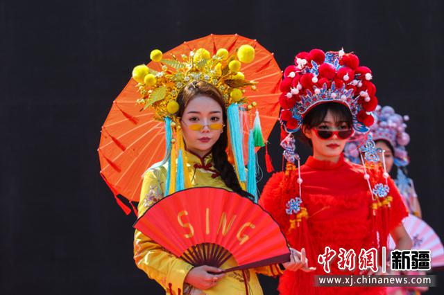 新疆博乐市第三届海棠文化旅游节开幕