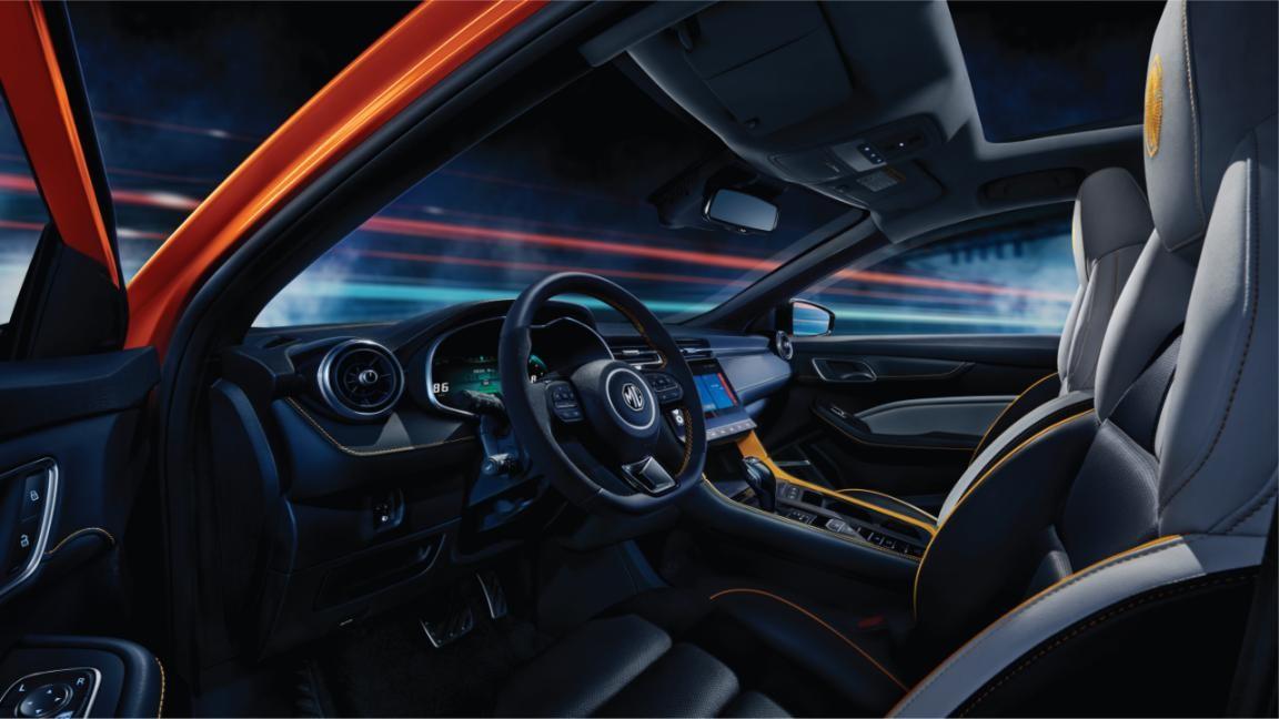 第三代MG6 PRO整车图曝光 有运动轿跑那味了