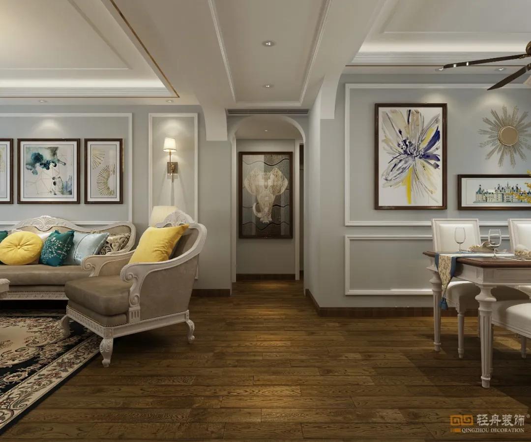 首发 | 泰安鲁商中心148㎡,主案设计师张莎莎「轻舟出品」