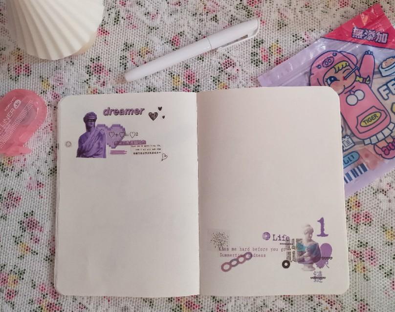 秋日紫色迷情—神秘又浪漫的紫色系列手帐请查收