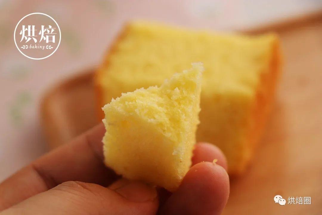 不加泡打粉 细腻绵软不噎人 好评上万的分蛋法黄油蛋糕