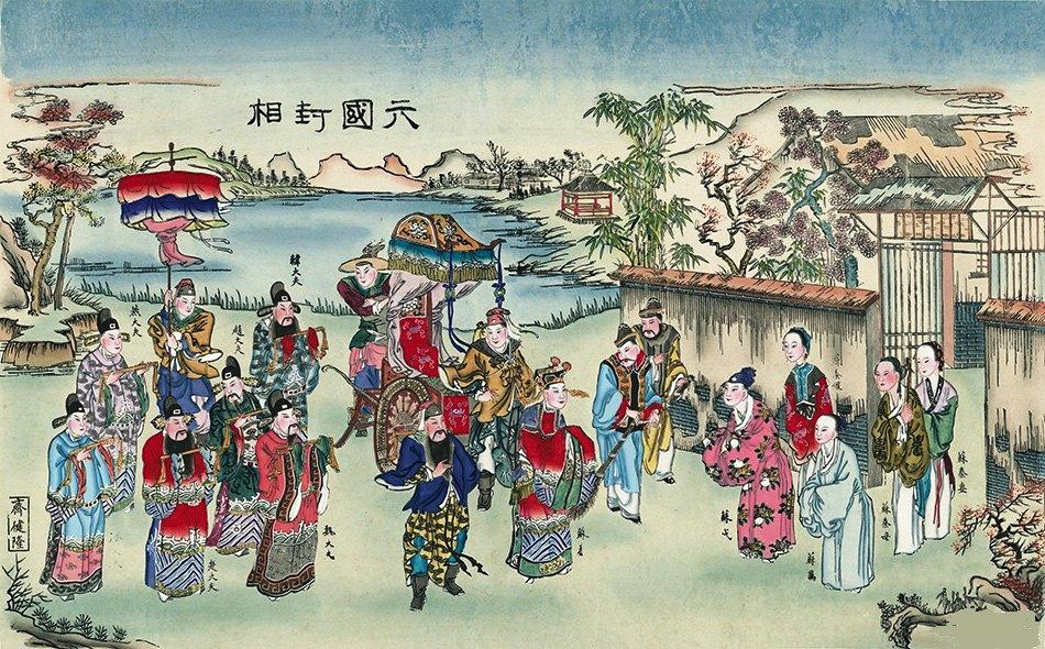 传统戏曲年画欣赏