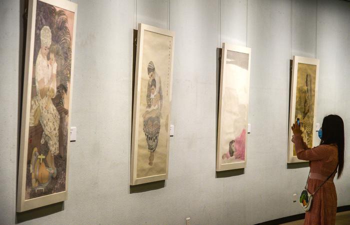 重磅!陕西省美术博物馆推出7位西北女性画家联展